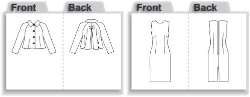 Vogue Sewing Pattern 8146 Ladies Dress /& Jacket Sizes 14-16-18-20