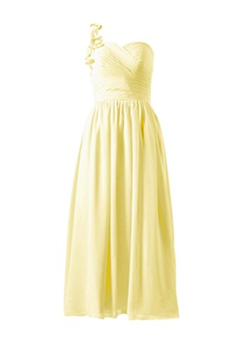 Chiffon Long Shoulder Dress BM10824AL Party banana Dress 24 One DaisyFormals Lady fTZUqnqX