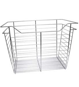 Hafele Closet Wire Drawer Basket 23 x 17 x 14 Chrome
