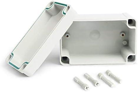 Caja de plástico resistente al agua Caja de instrumentos para proyectos electrónicos Caja de proyectos eléctricos Caja de conexiones para exteriores Caja - Blanco: Amazon.es: Iluminación