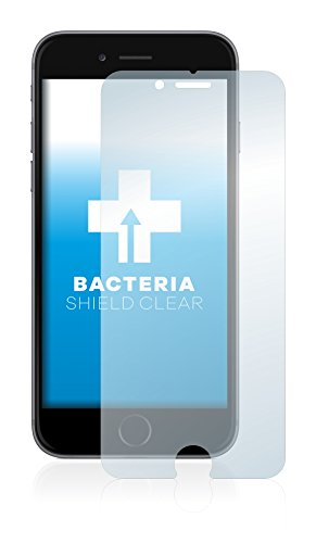 upscreen Bacteria Shield Clear Pellicola Protettiva per Apple iPhone 6S Proteggi Schermo Antibatterica