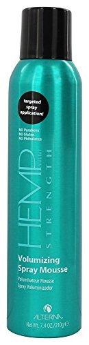 Alterna Hemp Natural Strength Volumizing Spray Mousse 7.4 oz (Alterna Mousse)