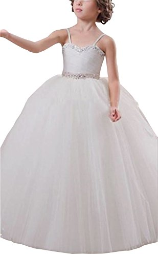 Helen Lace Flower Girls Dresses First Communion (Discount First Communion Dresses)