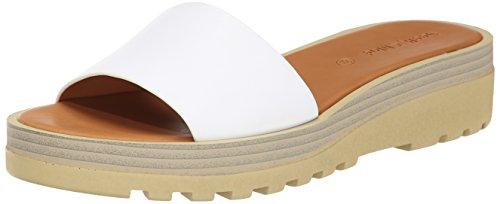 See By Chloe Women's Robin Platform Sandal, White, 40.5 EU/10.5 M US