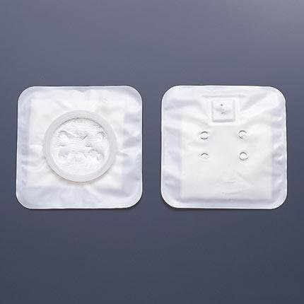 Hollister Center Point Lock Two Piece Stoma Caps White - 25 per Box (1 3/4
