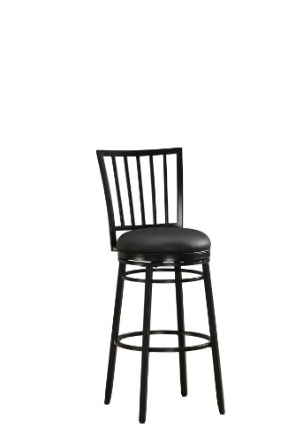 American Heritage Billiards Easton Counter Height Stool, Black