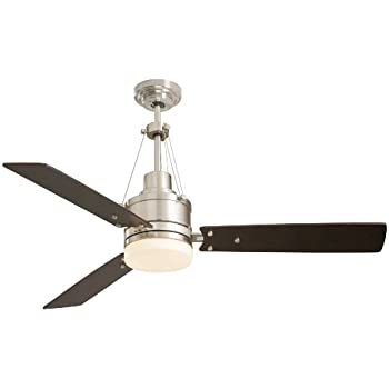 Emerson Cf205bs Ceiling Fan With Light And Remote 54 Inch