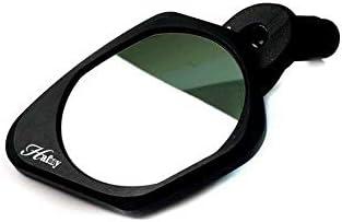62mm Stainless Steel Lens Safe Rearview Mirror Hafny Bar End Bike Mirror