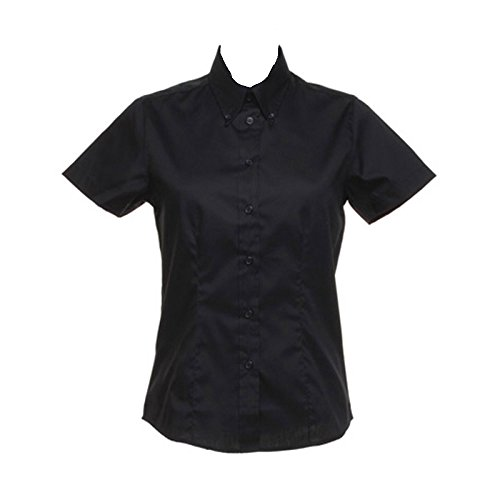 Sleeve Kit Shirt Kustom Black Ladies Short Oxford wUOOpzBcxq