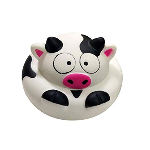 Milk Cow Stress Ball - LIFE GOO Stress Reliever Toy Kawaii Cute Exquisite Fun Milk Cow Super Slow Rising Squeeze Pressure Stress Reliever Toy Jumbo Ball Squishies Scented Slow Rising Squeeze Toy Charm Toy