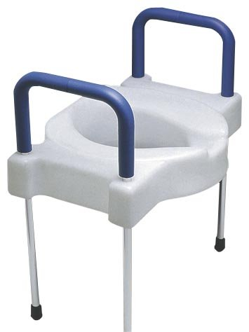 SP Ableware Tall-Ette Elevated Toilet Seat with Extra Wid...