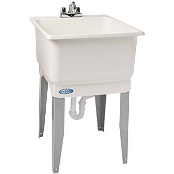 Mustee 14CP 14CP Utilatub Combo Laundry/Utility Tub