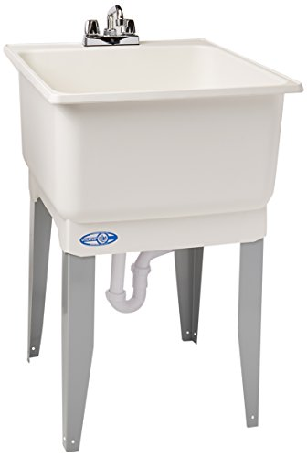 Mustee 14CP 14CP Utilatub Combo Laundry/Utility Tub by Mustee