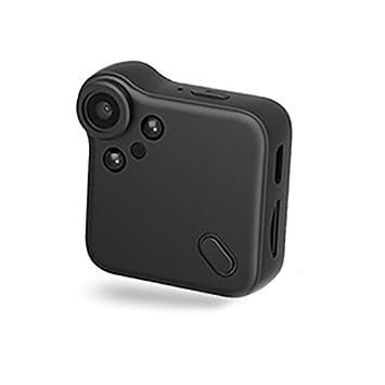 TOOGOO Camara Mini WiFi Camara IP Sensor de Movimiento Cuerpo Negro Mini DV DVR Grabadora de