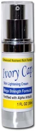 Ivory Caps Mega Strength Skin Lightening Cream 1 FL OZ
