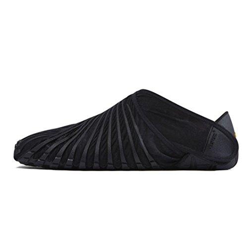 Hometom Men Women Unisex Fit Comfy Shoes (L, Black)
