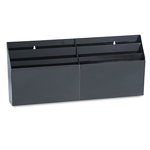 RUB96060ROS - Rubbermaid Optimizers Six-Pocket Organizer - Optimizers Six Pocket Organizer