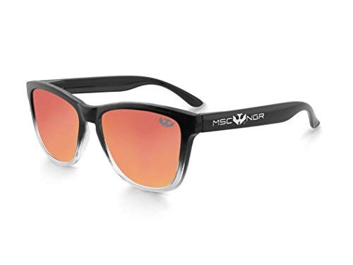 Gafas de sol MOSCA NEGRA ® modelo ALPHA SPLASH Orange - Polarized