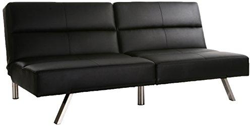 DHP Studio Convertible Leather Futon