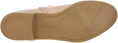 s.Oliver Women's 25304 Ankle Boots Pink (Rose Comb) FfHfshsU31