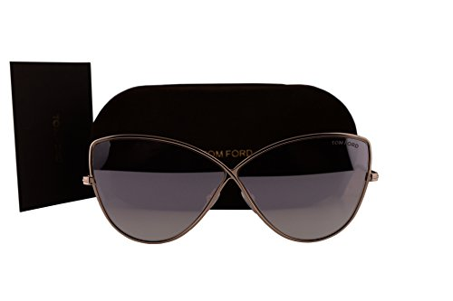 Tom Ford FT0569 Elise-02 Sunglasses Shiny Gold w/Pink Mirror Lens 28Z - Kids Ford Tom For