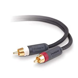 Belkin PureAV RCA Audio Cable (6 feet) from Belkin Inc.