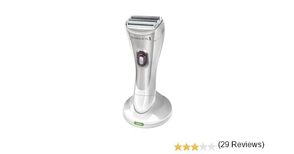 Remington WDF4830 Plata maquinilla de afeitar para mujer - Depiladora femenina (Plata, Afeitadora eléctrica): Amazon.es: Hogar