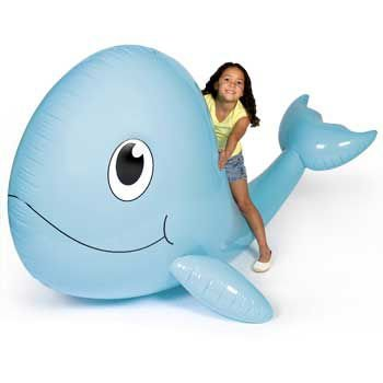 72 Huge Inflatable Jumbo Whale Party Decor Vbs Jonah Sperm Whale Toy