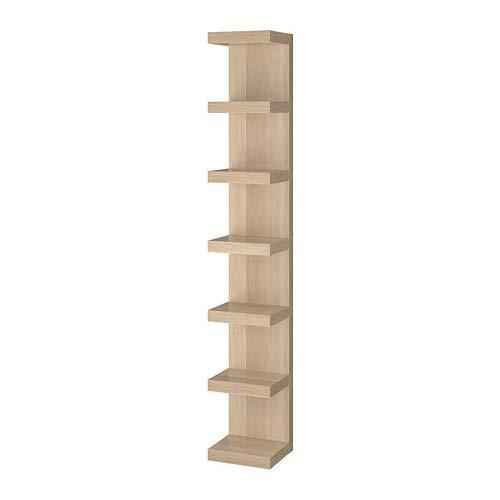 IKEA/イケア LACK:ウォールシェルフユニット30x190 cm ホワイトステインオーク調 (904.305.95) B07RG31Y6P
