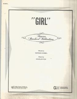 Girl from the Paramount Motion Picture Star Spangled Girl ()