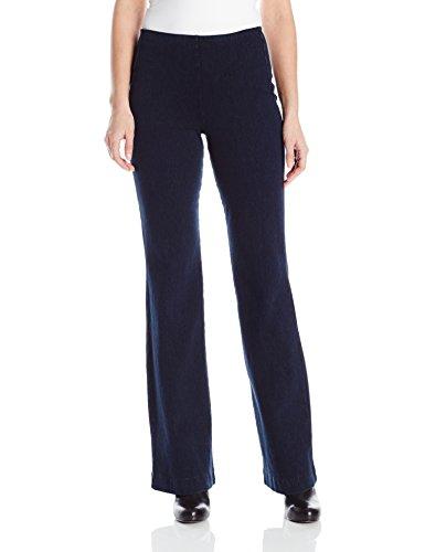 Lyssé Women's Denim Trouser, Indigo, XL - Indigo Wide Leg Trousers