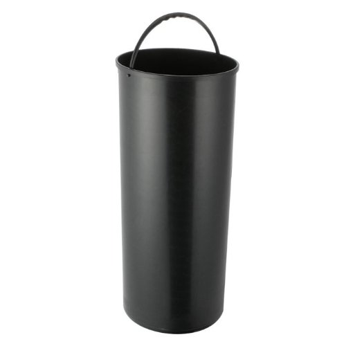 KITCHEN MOVE 108 Bucket with Handle ABS Cylinder for Automatic Bin 42 Litres Black 108 - SEAU 42L