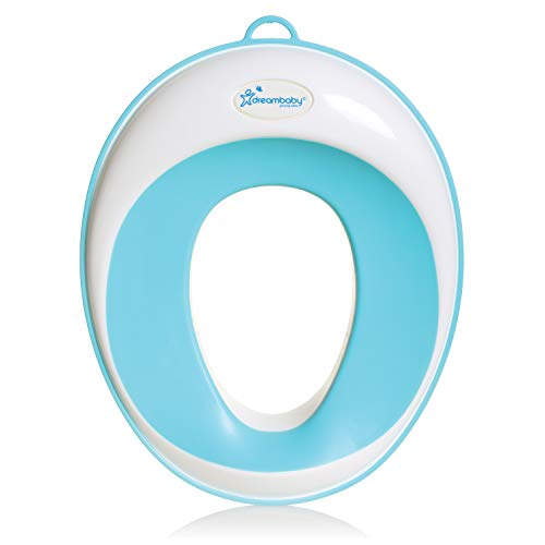 Dreambaby EZY- Potty Training Toilet Seat Topper, Non-Slip and Great for Travel, Aqua