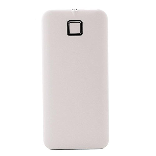 YOUNGFLY Fashion 20000mah External Power Bank Backup Dual USB Battery Charger For Cell Phone, White