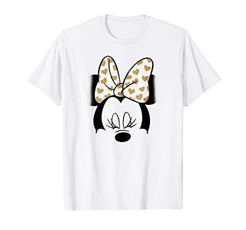 Disney Minnie Mouse Golden Bow T Shirt