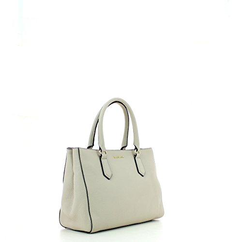 Handbag in Leather SEASHELL