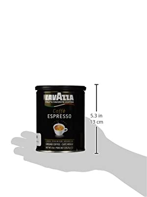 Lavazza Ground Coffee - Caffe Espresso - 8 oz - 2 pk from KEHE Romeoville