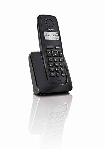 Gigaset A116 - Teléfono inalámbrico, Agenda 50 contactos
