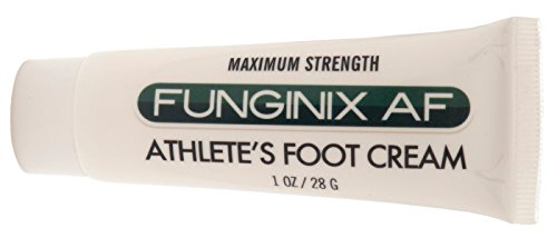 FUNGINIX AF Athletes Foot Cream - Topical Anti-Fungal Treatment, Eliminates Athlete's Foot Infections, Safe & Effective (1 Ounce Tube)