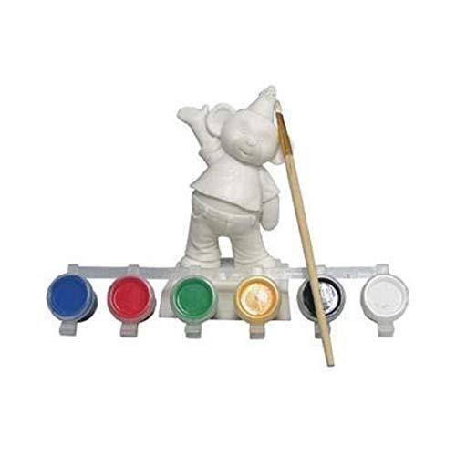 Paint-your-own Figurine Bearthday Bear