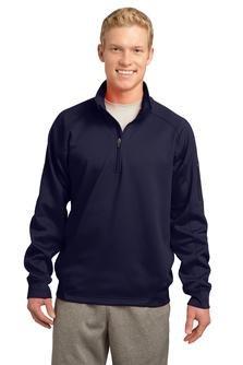 Navy 1/4 Zip Fleece - 8