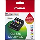 Canon (4540B017) Ink Cartridge, Black, Multipack with Photo Paper