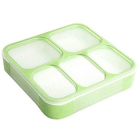 2de5a2046e33 Amazon.com: Mikash Bento Lunch Box Case Food Containers Microwave ...