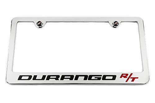 Dodge Durango R/T Chrome License Plate Frame - High End - USA Made ()