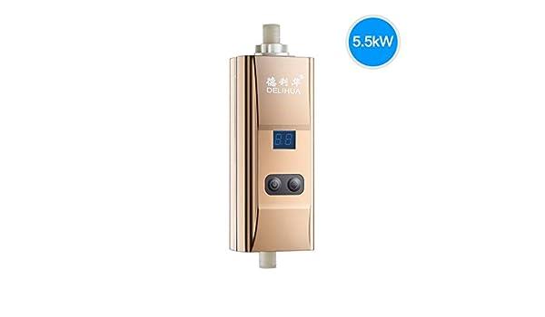 Pebegain UK Calentador de Agua eléctrico Kit de Sistema de mampara ...