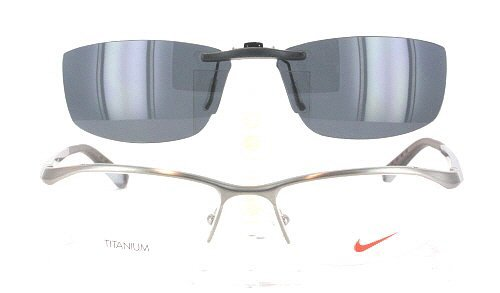 Amazon.com: NIKE 6037-53X17 POLARIZED CLIP-ON SUNGLASSES (Frame NOT ...