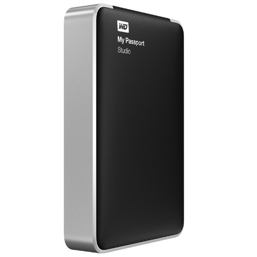 WD My Passport Studio 2TB Mac Portable External Hard Drive Storage FireWire