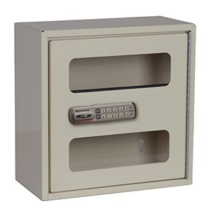 MSEC by Harloff, Medication Lock Box, Medium, Single Door Narcotics Cabinet w/Electronic Lock