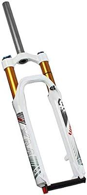 WZ Suspensión Delantera Horquillas 26 Pulgadas Montaña Bicicleta Apagador Tortuga Ajuste Negro Tubo Oro Tubo Choque Amortiguador (Color : B, Tamaño : 26inch): Amazon.es: Deportes y aire libre