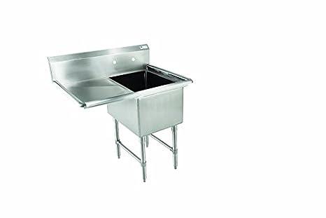 Amazon Com John Boos E Series Stainless Steel Sink 12 Deep Bowl